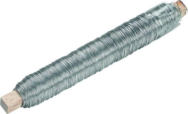 KNORR PRANDELL Blumendraht 50m 0,50mm silber 21-6470300