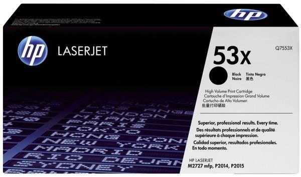 HP Lasertoner 53X schwarz Q7553X Jumbo