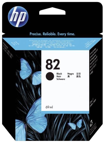 HP Inkjetpatrone Nr. 82 schwarz CH565A 69ml