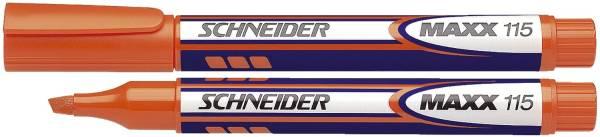 SCHNEIDER Textmarker Maxx 115 orange SN111506