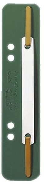 3710 Einhänge Heftstreifen PP, kurz grün, 25 Stück
