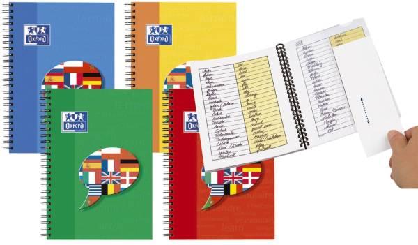 Vokabel Coach, Optik Paper 90 g qm, A5, rechte Spalte gelb, 48 Blatt