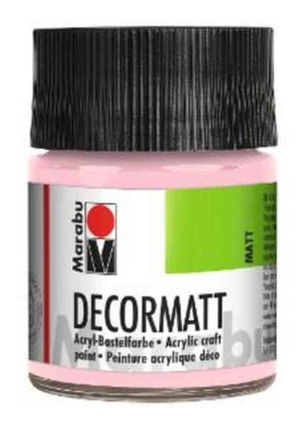 Decormatt Acryl, Wildrose 231, 50 ml