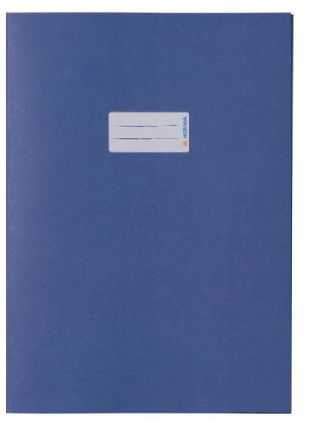 Heftschoner A4 UWF dunkelblau