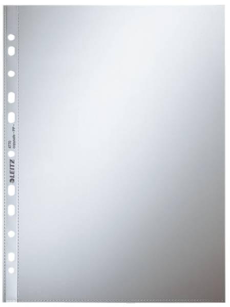 4770 Prospekthülle Standard, A4, PP, glasklar, 0,08 mm, dokumentenecht, farblos, 100 Stück