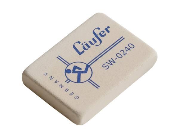 Radierer SW für Blei 40x28x7,5mm