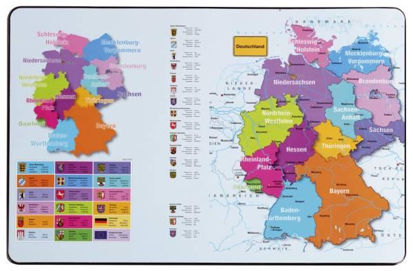PAGNA Schreibunterlage Deutschland 21757-15 54x36cm