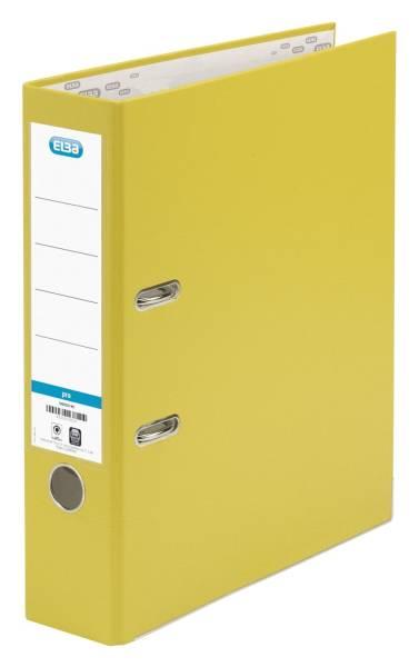 Ordner smart Pro (PP Papier) A4, 80 mm, gelb