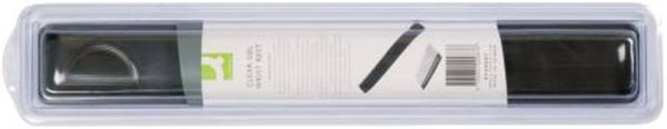 Q-CONNECT Handgelenkauflage transp.grau KF20087 f.Tastatur