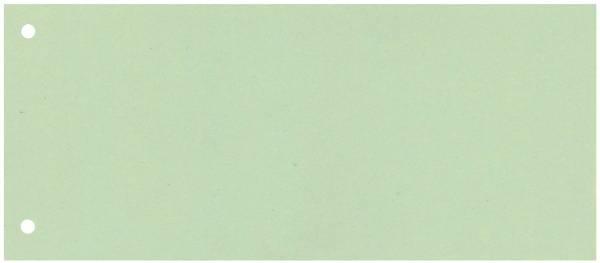 Trennstreifen 190 g qm Karton, grün, 100 Stück