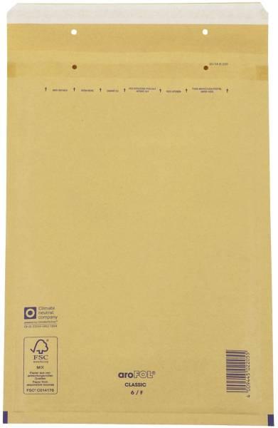 AROFOL Luftpolstertasche 10ST braun 240x350 6/F 2FVAF000066