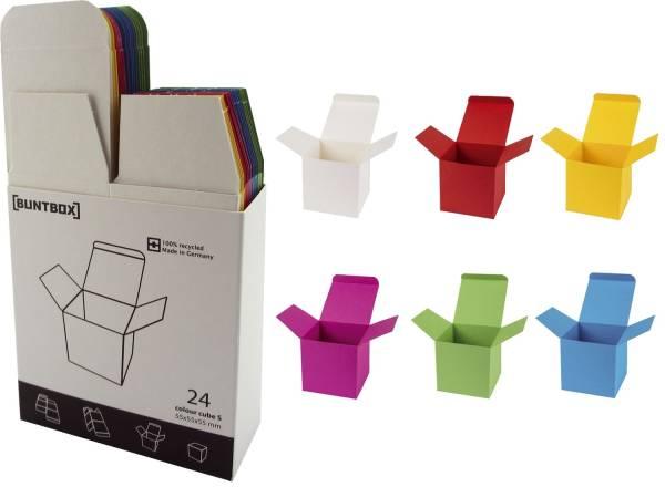 BUNTBOX Geschenkschachtel S sort. 145-32 55x55x55mm