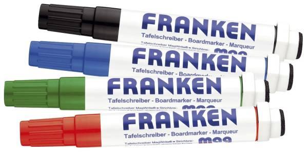 KombiMarker MagWrite 1 3 mm, Rundspitze, 4 Farben sortiert®