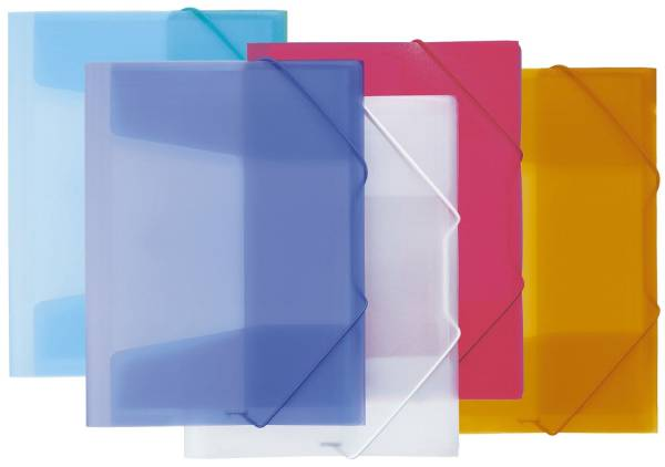 PAGNA Gummizugmappe PP A3 maisgelb 21638-04 Lucy Colours