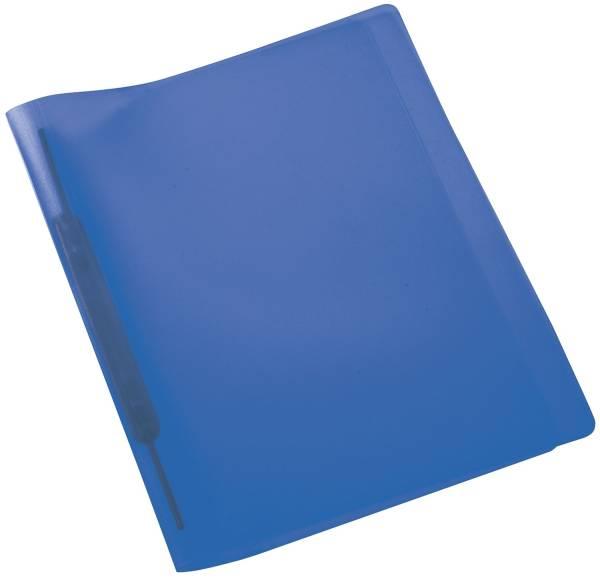 Spiralschnellhefter A4, transluzent, dunkelblau