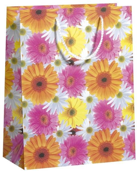 ZÖWIE Geschenktragetasche Blume bunt 70020 32406