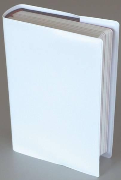 KALOS Gebetbuchhülle 17.5x12x3.3 weiß HG820104060 Kunstleder