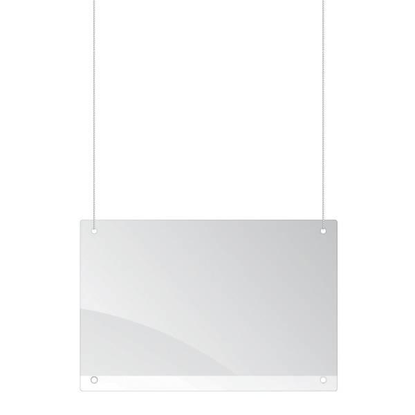 FRANKEN Tröpfchenschutzscheibe 150x100 cm Decke SPA1015 Plexiglas