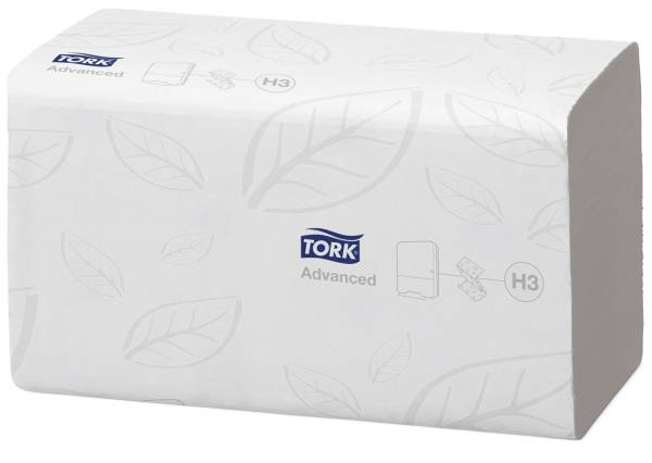 TORK Falthandtuch 3750ST weiß 290163 V-Falz 2-l