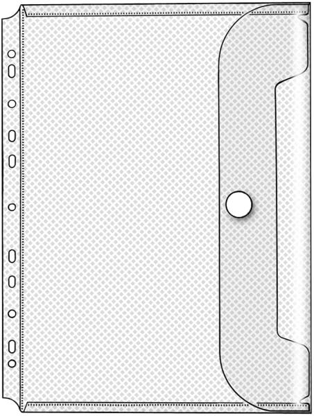 Dokumentenhüllen Serie Crystal transparent, für A4, Packung mit 10 Stück