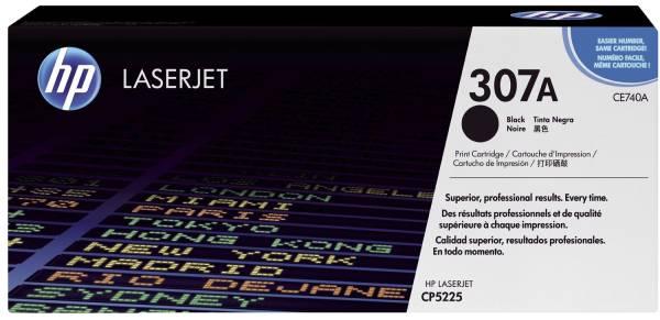 Druckkassetten schwarz, 7 000 Seiten, CE740A®