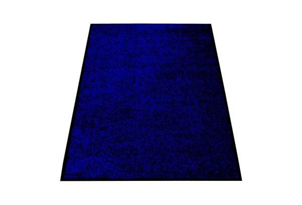 Eazycare Schmutzfangmatte für Innen, 120 x 180 cm, dunkelblau, waschbar