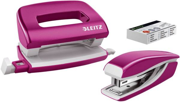LEITZ Locher + Hefter WOW metallic pink 5561-20-23