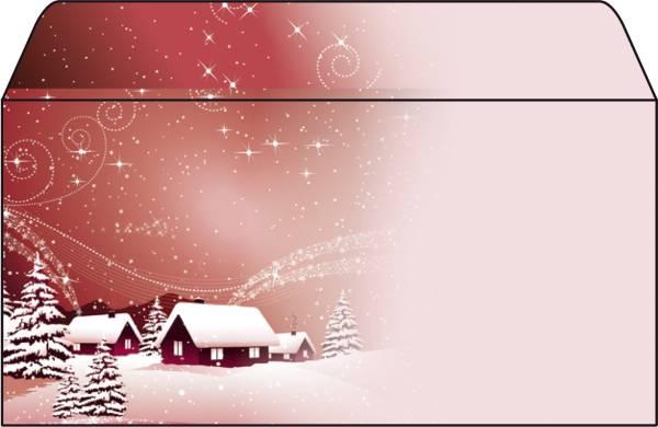 """Weihnachts Umschlag """"Silent Night"""" DIN lang (110x220 mm), 50 Umschläge®"""