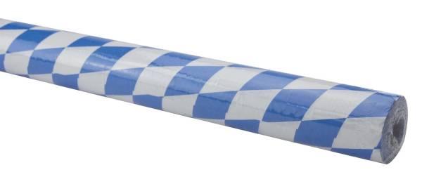 Tischtuchpapier Rolle Damast, 1,00 m x 10 m, Raute, blau weiß