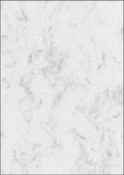 Marmor Papier, grau, A4, 200 g qm, 50 Blatt