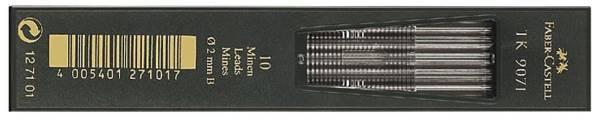 FABER CASTELL Fallmine 9071 2mm B 10ST 127101