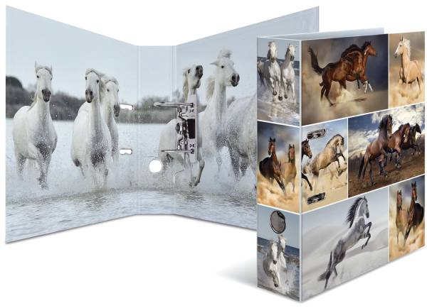 HERMA Ordner Tiere A4 Pferde 7164