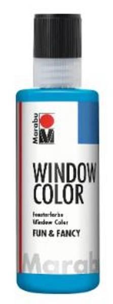 MARABU Fensterfarbe Fun&Fancy azurblau 04060 004 095 80ml