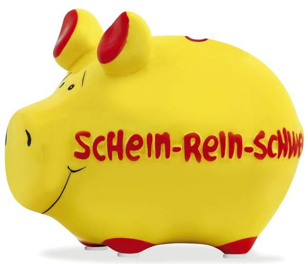 KCG Spardose Schwein klein blau 100484 Schein-rein-Schwein