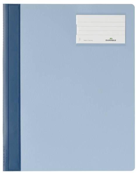 Schnellhefter, Hartfolie, DIN A4 überbreit, blau