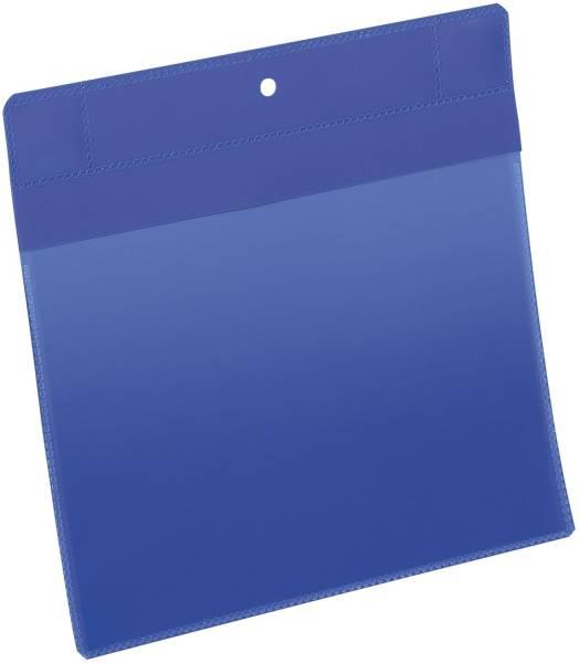 Kennzeichnungstasche magnetisch, A5 quer, PP, dokumentenecht, dunkelblau, 10 Stück