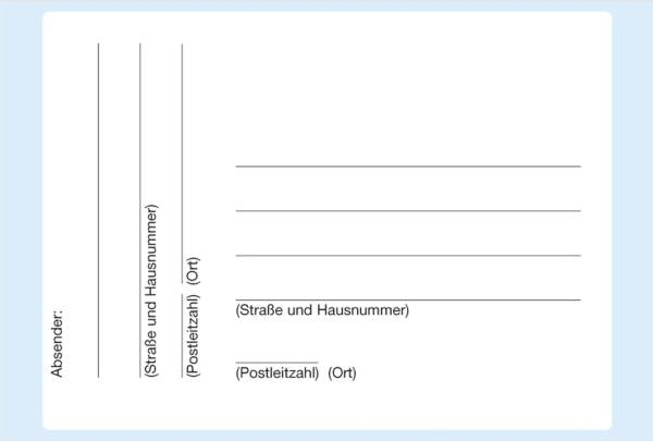 HERMA Paketadresse 80x110 mm weiß 5731 selbstklebend