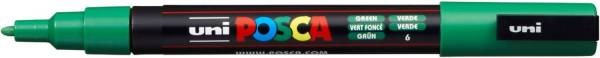 UNI-POSCA Pigmentmarker dunkelgrün 186563 PC-3M