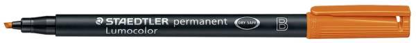 Feinschreiber Universalstift Lumocolor permanent, B, orange®