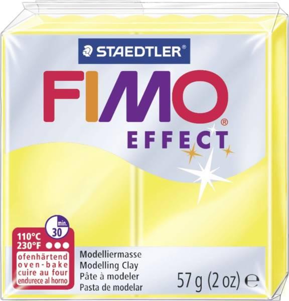 Modelliermasse soft 56 g, transparent gelb,®