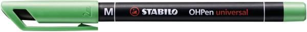 STABILO Folienstift OHPen M grün 843/36 permanent