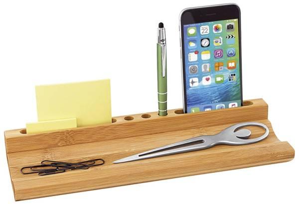WEDO Organizer m.Smartphone-Halter 611807 Bambus