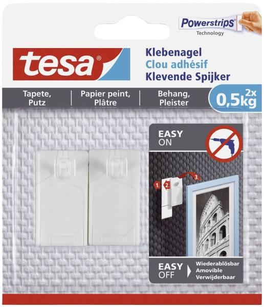 TESA Klebenagel 500g weiß 77772-00000-00 2ST