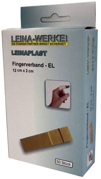 Fingerverband 50 Stück lose, 12 cm x 2 cm elastisch