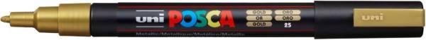 UNI-POSCA Pigmentmarker gold 186581 PC-3M