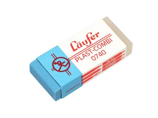 Radierer Plast COMBI 46x20x9mm