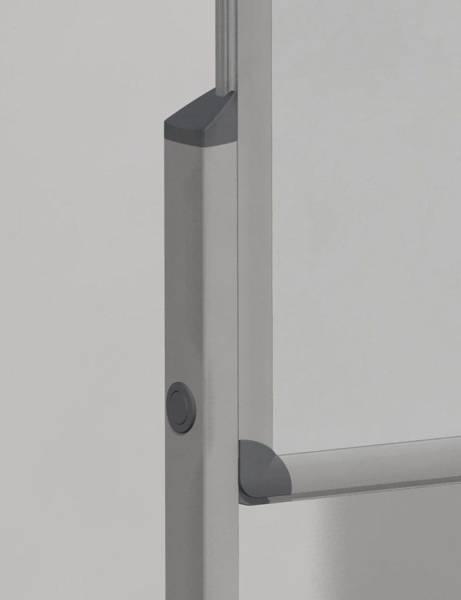 FRANKEN Standfuß 2 ST silber MTB8 PRO Serie