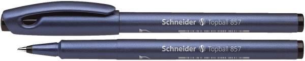 SCHNEIDER Tintenroller Topball schwarz SN8571