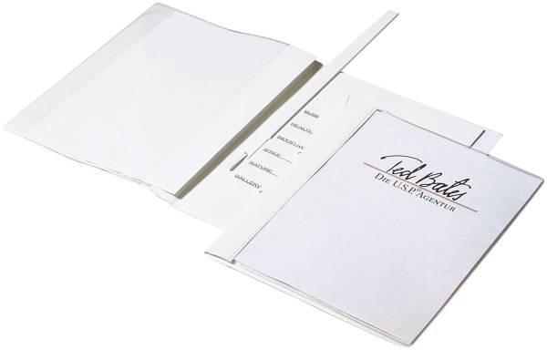 Angebotshefter DURAPLUS DE LUXE, strapazierfähige Folie, A4, weiß®