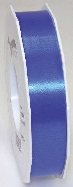 Ringelband Polyspleissband 25 mm x 91m, blau